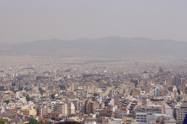 Sprawling Athens