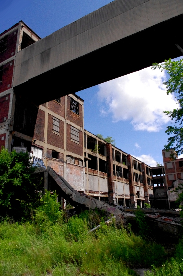 A haunting look into part of the abandoned Packard Automotive Plant in Detroit, MI.