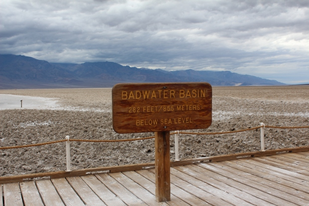 Badwater basin 2014